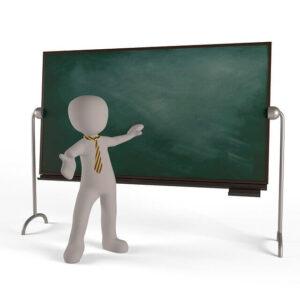 Teacher teaching | 7 Best Characteristics of a Good Coach | krescon.com
